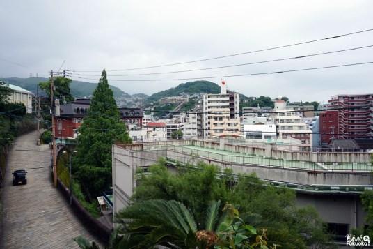 "Piste hollandaise ""Dutch Slope"", Nagasaki"