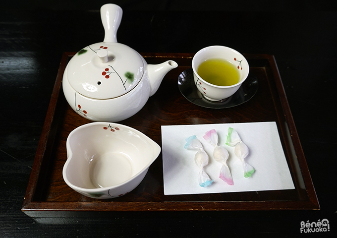 Thé à Hoshino mura