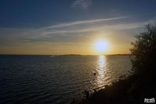 Coucher de soleil sur Miyakojima