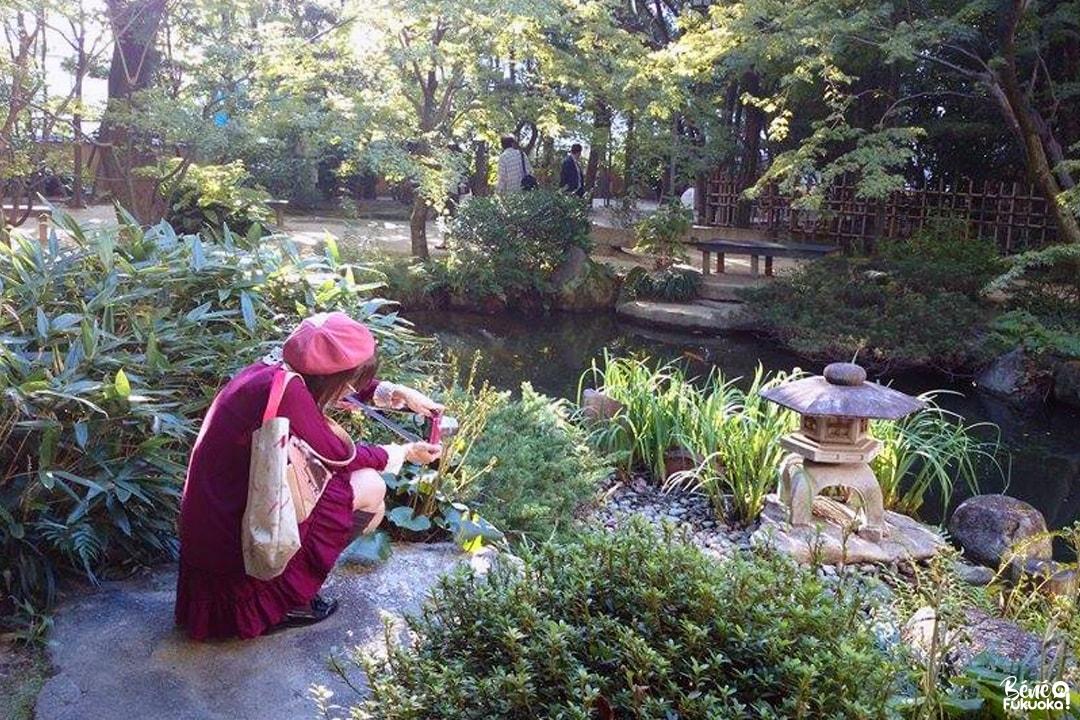 Rakusuien, un mini jardin au coeur de Hakata