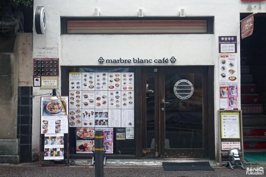 Marbre Blanc Café, Fukuoka