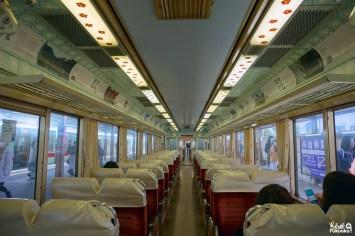 Train Tabito entre Fukuoka et Dazaifu