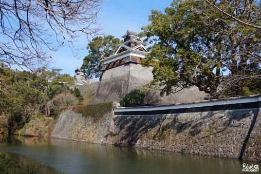 Douves du Château de Kumamoto