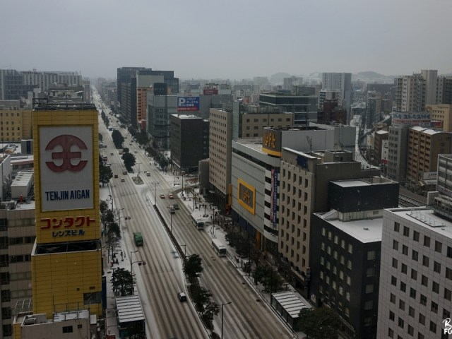 Un week-end tout blanc à Fukuoka