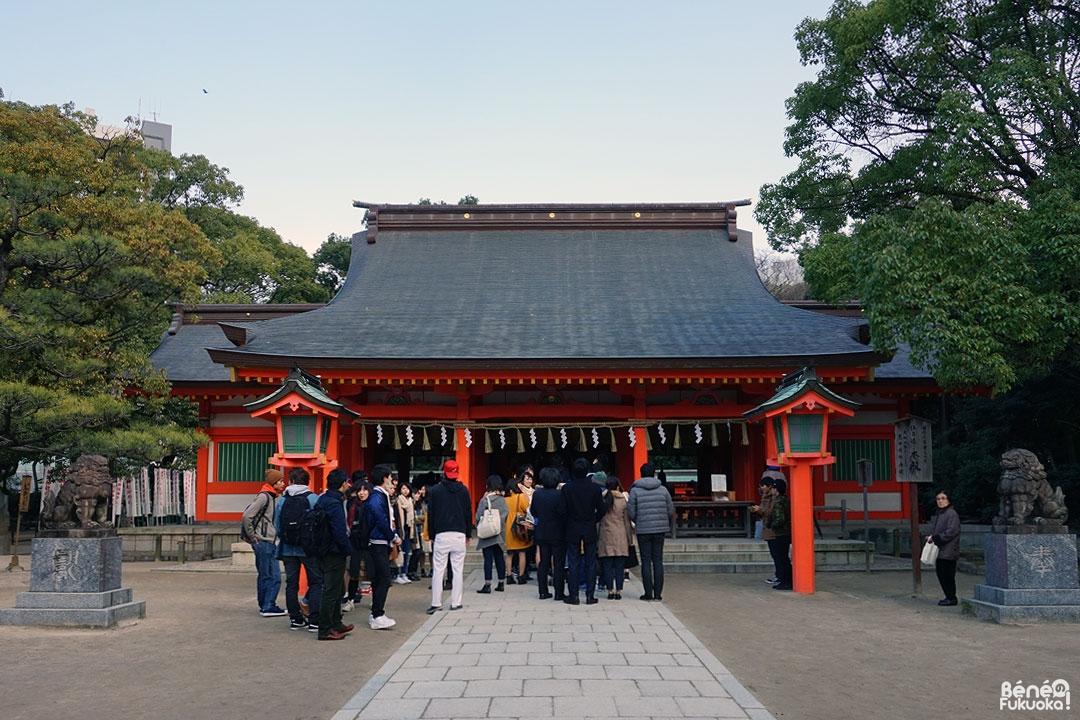 Sanctuaire Sumiyoshi, Fukuokaa