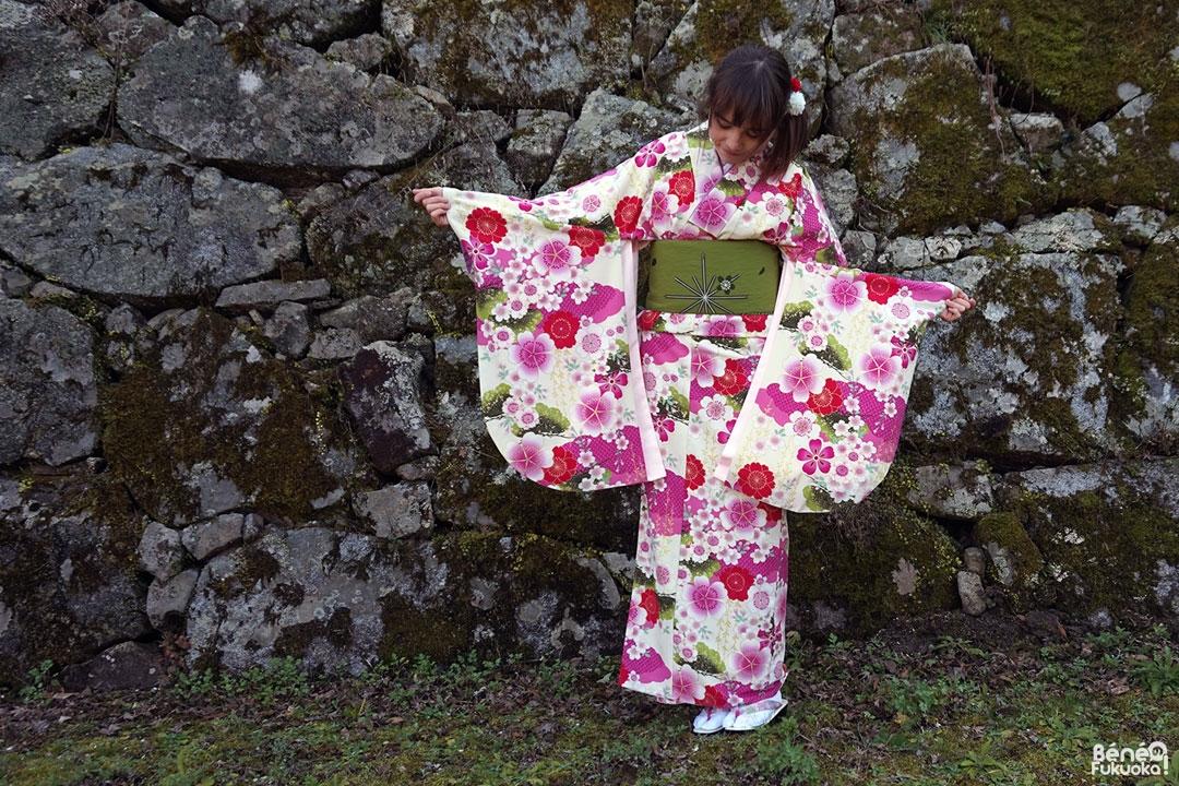 Fukuoka Kimono Walk #2 - Parc Maizuru