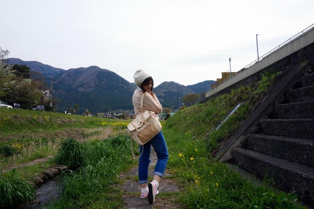 Mode japonaise à Yufuin