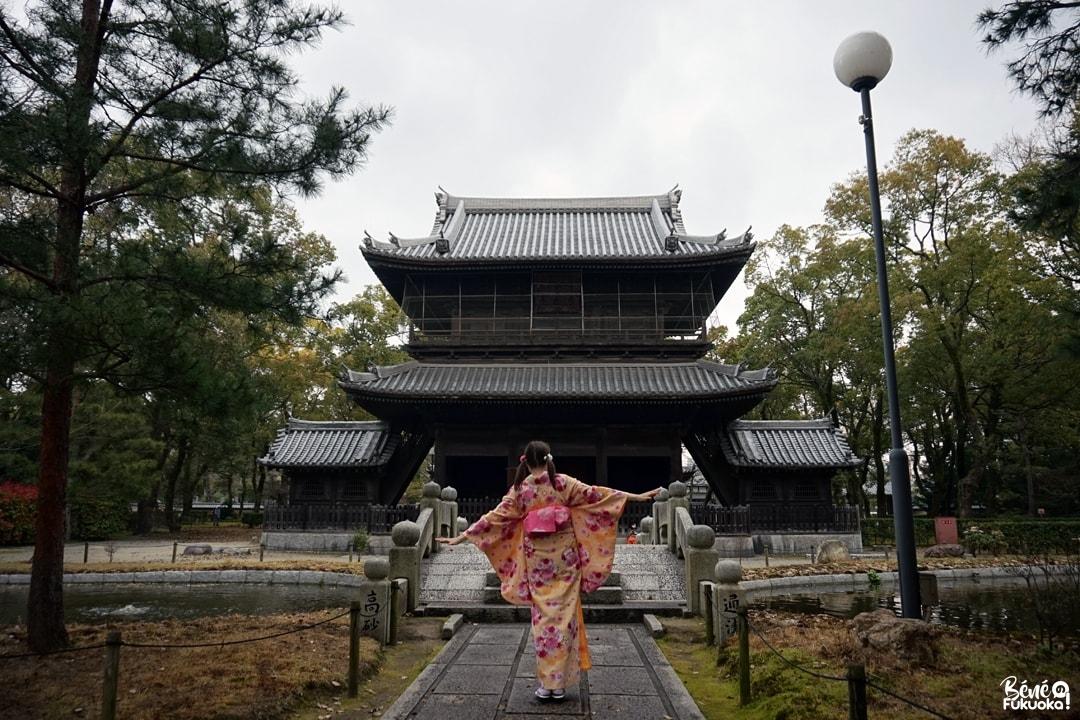 Fukuoka Kimono Walk, temple Shôfuku-ji de Fukuoka