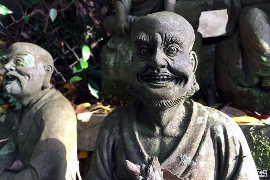 Statue d'arhat, Nanzôin, Fukuoka
