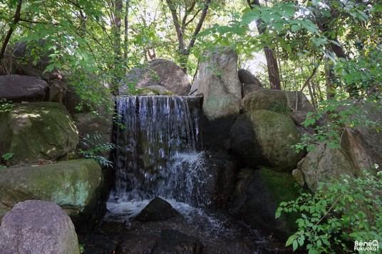 Cascade, Jardin Rakusuien, Fukuoka