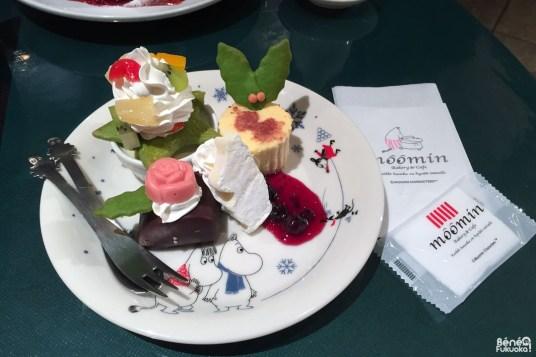 Moomin cafe de Fukuoka