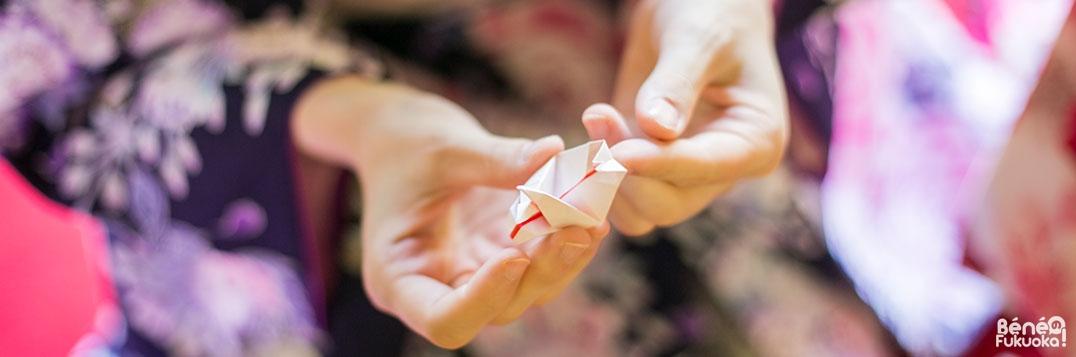 Origami et centres culturels à Fukuoka