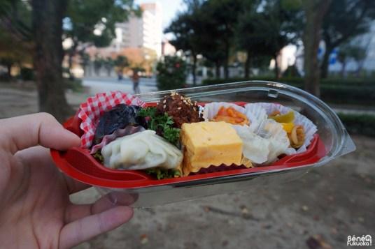 Un bentô au parc, Fukuoka