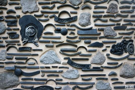 Hakata-bei, mur traditionnel de Fukuoka