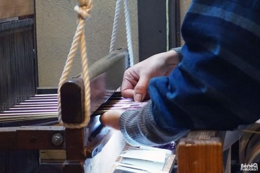 Méthode de tissage Hakata ori