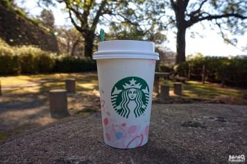 SAKURA Blossom Cream Latte, Starbucks
