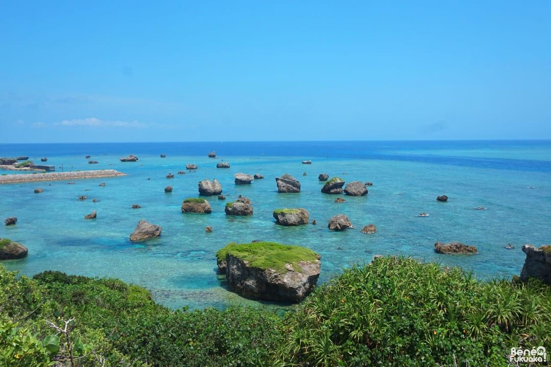 Vue depuis Higashi Hennazaki, Miyakojima, Okinawa