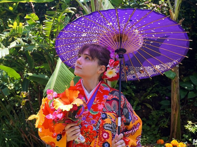 Okinawa Kimono Walk – Miyakojima