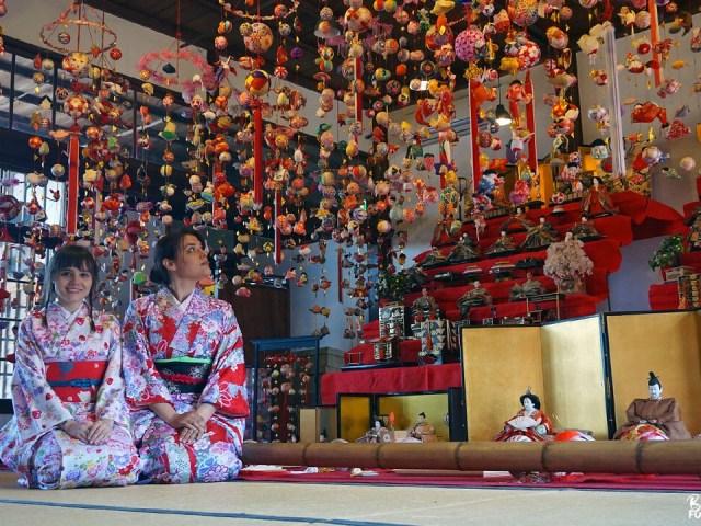 Fukuoka Kimono Walk – Yanagawa (avec Joranne)