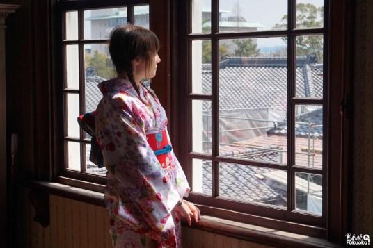 Fukuoka Kimono Walk (à Yanagawa) avec Joranne