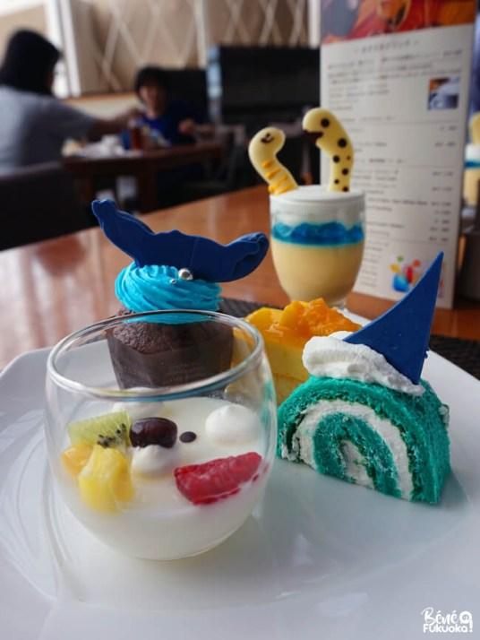 Buffet aquarium, Hôtel Seahawks, Fukuoka