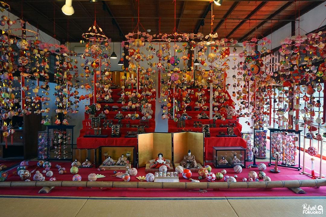 Festival Sagemon à la résidence Ohana , Yanagawa, Fukuoka