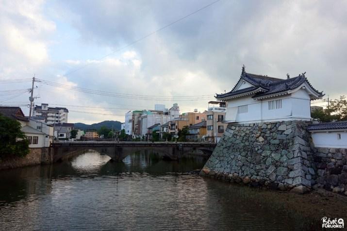 Une tourelle du château de Karatsu