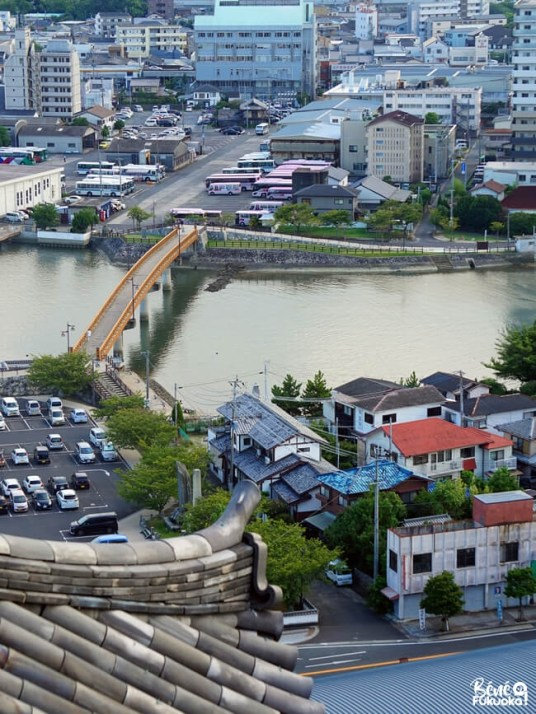 Vue sur Karatsu depuis le château de la ville