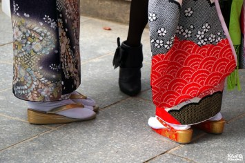 kimono-sandales