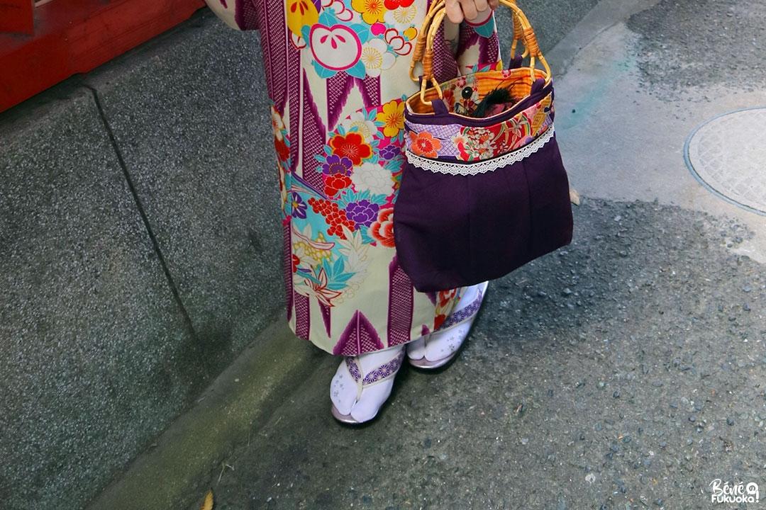Fukuoka Kimono Walk (Kawabata shôtengai)