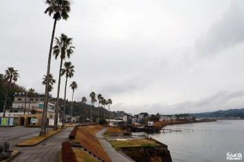 Le lac Ikeda, Ibusuki, préfecture de Kagoshima