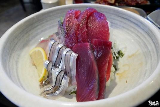 Déjeuner du pêcheur, restaurant Mugen, Ibusuki