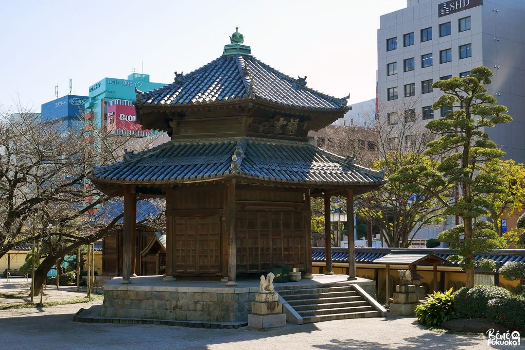 Rokkakudô, temple Tôchô-ji, Fukuoka