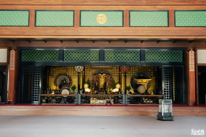 Le temple Tôchô-ji, Fukuoka