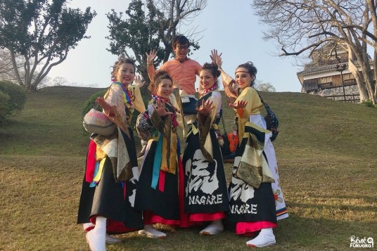 "Team de yosakoi ""Nagare"""