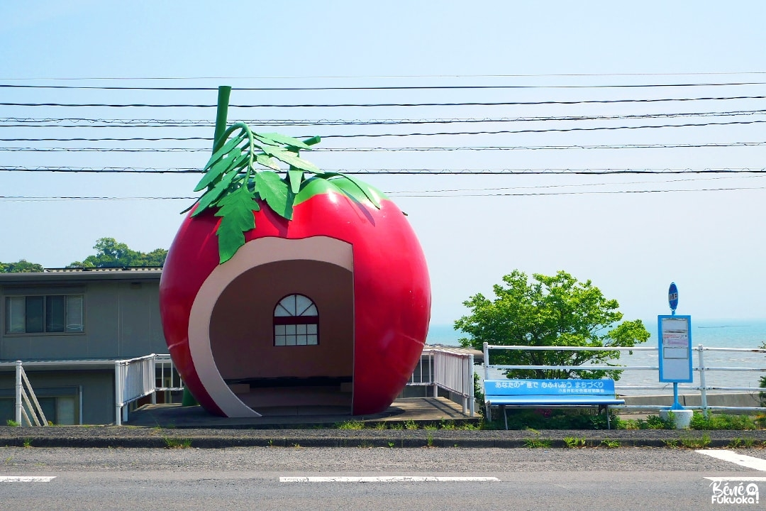 Abribus tomate, Isahaya, Nagasaki
