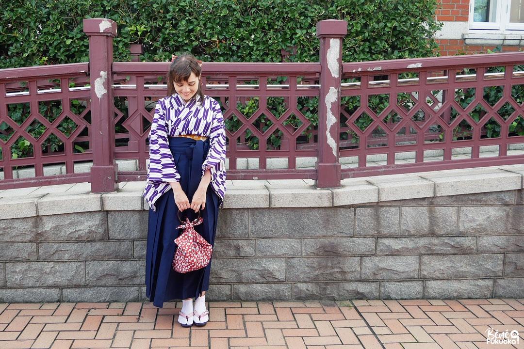 Fukuoka Kimono Walk - Mojikô