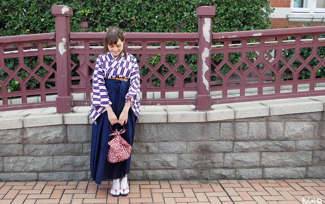 Fukuoka Kimono Walk – en hakama à Mojikô