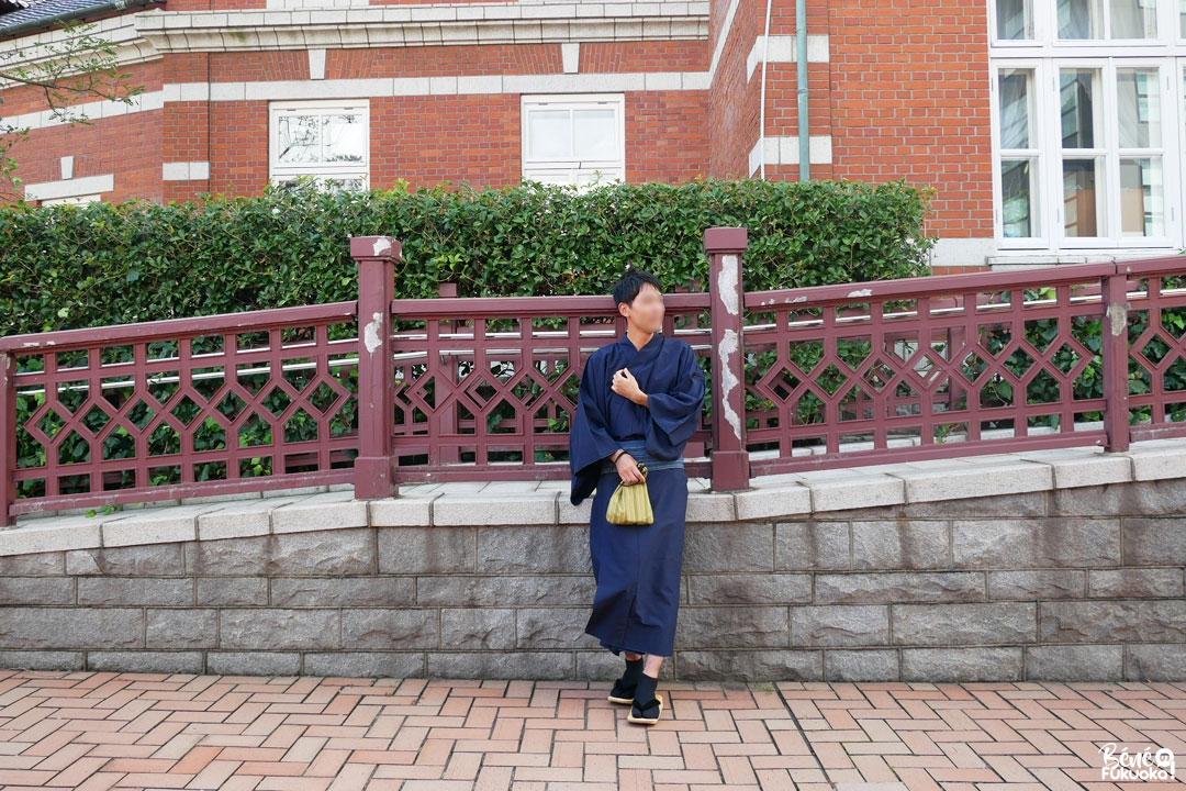 Kimono homme, Mojikô, ville de Kita-Kyûshû, Fukuoka