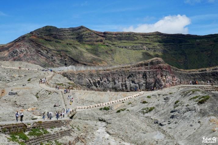 Naka-dake, volcan du mont Aso, Kumamoto