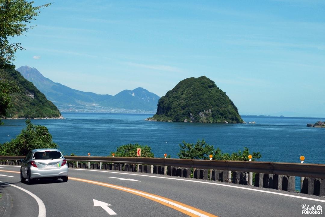 Route vers Amakusa, Kumamoto