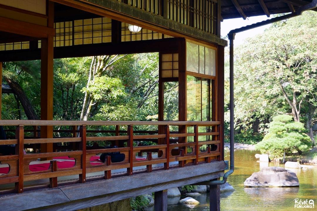 LLa maison de thé du jardin Yûsentei, Fukuoka