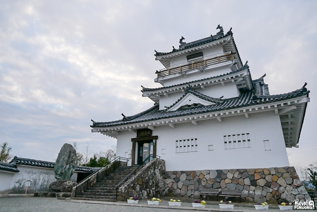 Le château de Kitsuki, préfecture d'Ôita