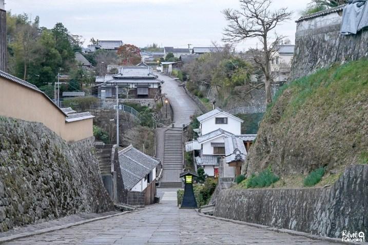L'ancien quartier de samurai de Kitsuki, préfecture d'Ôita