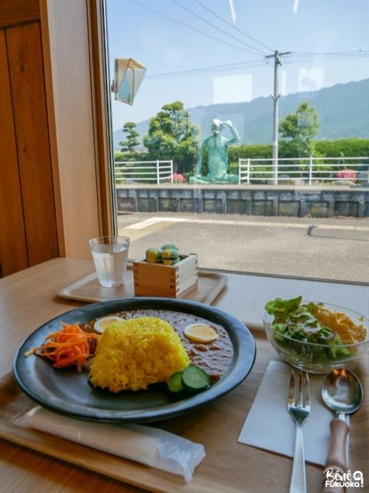 Repas kappa, gare de Tanushimaru, Kurume, préfecture de Fukuoka