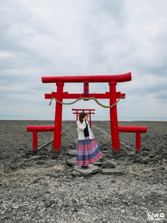 Les torii flottants de Tara, préfecture de Saga