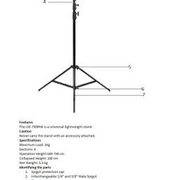 light stand diagram [ 674 x 1208 Pixel ]