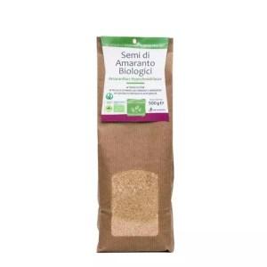 Semi di Amaranto Biologico, confezione da 500gr. Senza glutine,