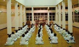 Meditazione degli operai in Giappone