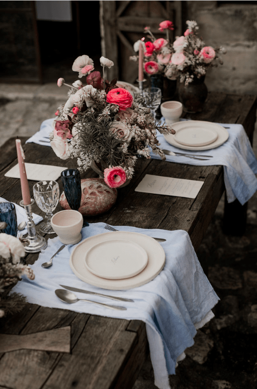 wedding table matera